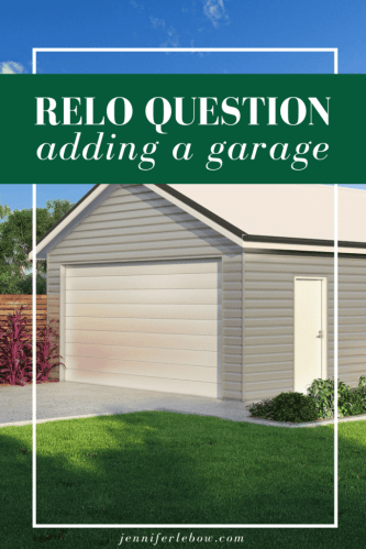 I'll Just Add a Garage