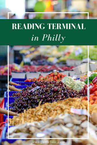 Reading Terminal was just voted the number one farmers market in the nation. Come see why.