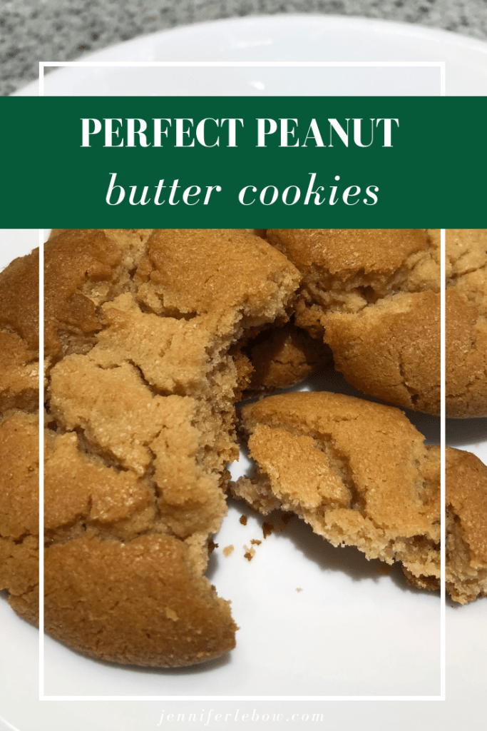 Looking for a peanut butter cookie that's crisp on the outside but soft on the inside?