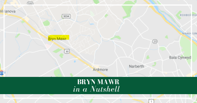 Bryn Mawr is a top choice among Main Line towns. Great shopping and dining, but all the advantages of the suburbs.