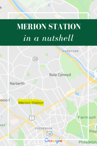 Moving to Philadelphia's Main Line, but not sure which neighborhoods to consider? Find out if Merion Station would be a good fit!
