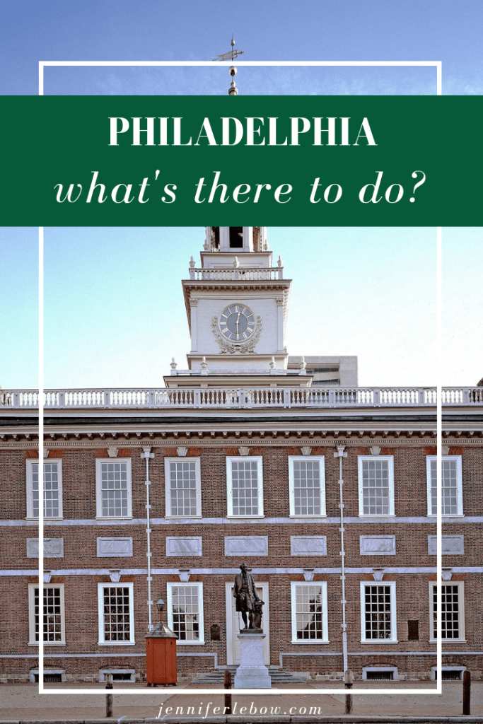New to Philadelphia or entertaining visitors and looking for a list of activities? Here you go!