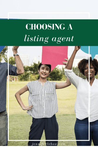 How to choose a listing agent
