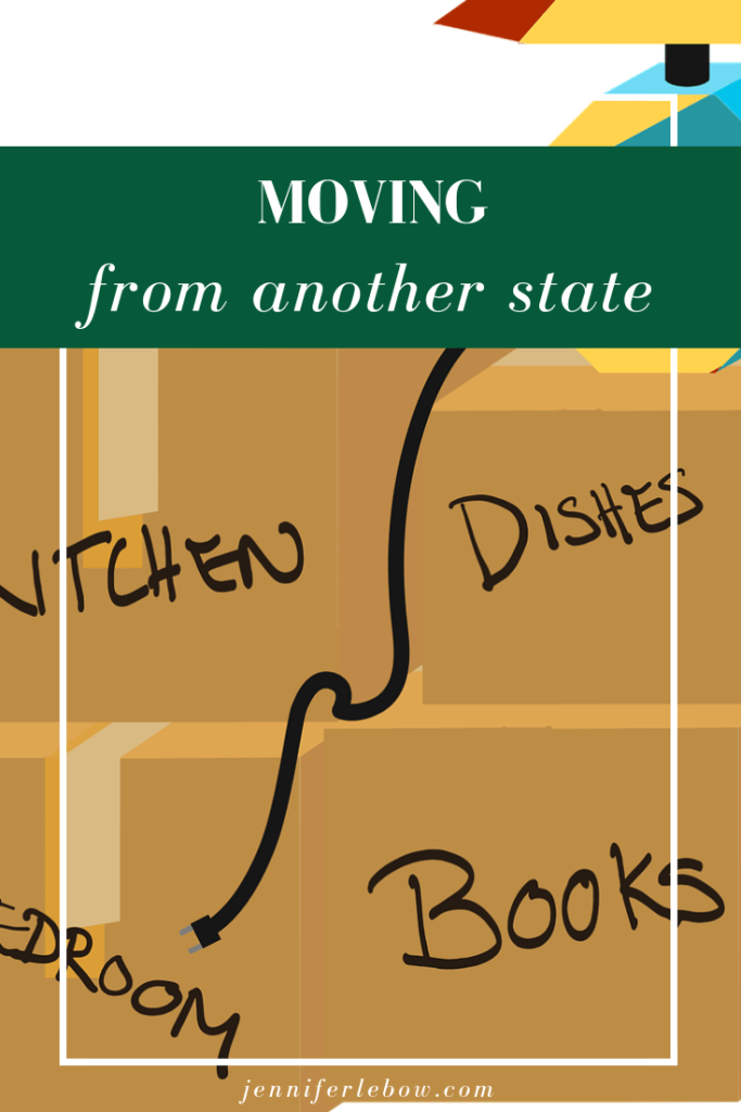 Buying a house when you're moving from out of state