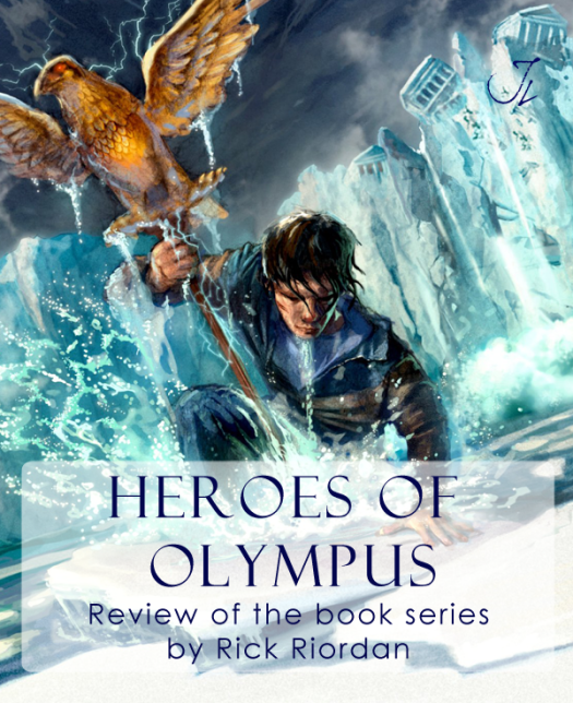 A Review of The Heroes of Olympus, sequel series to Percy Jackson and the Olympians