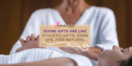 Divine gifts are just like athletic gifts, some are just natural