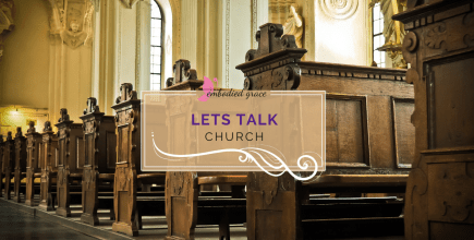 "Let's talk ""Church"""