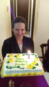 Wk 8 - My Birthday at Mom's