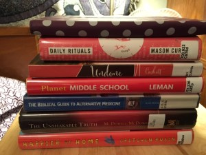 Wk 12 - My reading list
