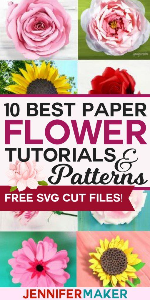 Download DIY Paper Flowers: The Best Free Tutorials, Patterns ...