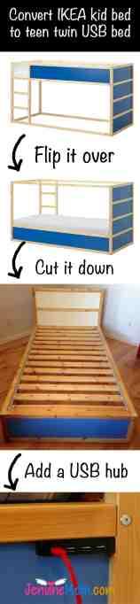 Usb Bed Save Money By Hacking An Ikea Kura Bed Jennifer Maker