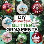 Diy Glitter Ornaments With Layered Vinyl Jennifer Maker