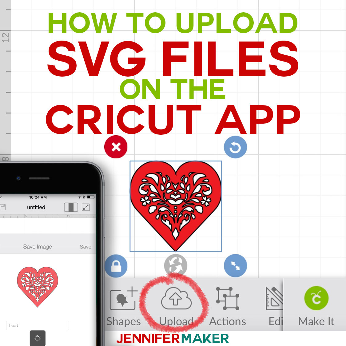 Download How to Upload SVG Files to Cricut Design Space App on ...