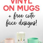 How To Put Vinyl On Mugs Cute Designs A Unicorn Jennifer Maker