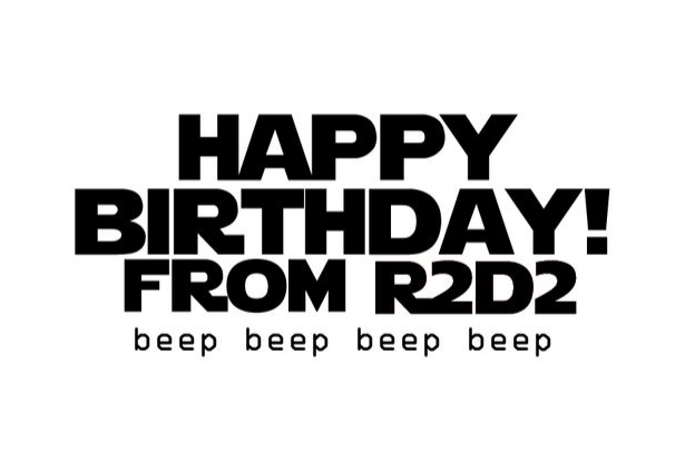 Make A Card Monday Happy Birthday From R2d2 I Make Things