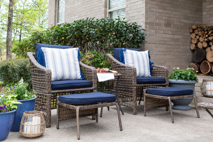 outdoor patio decor ideas on a budget