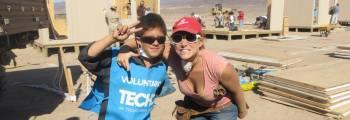 Volunteering Techo