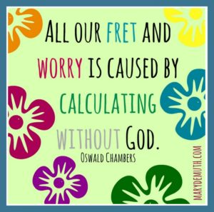 worry is ...