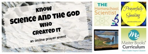 online prayer event God & Science