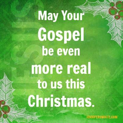 Christmas brings the gospel