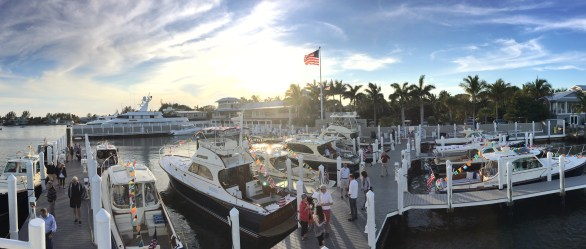 Gorgeous evening on the docks of Boca Grande Marina!