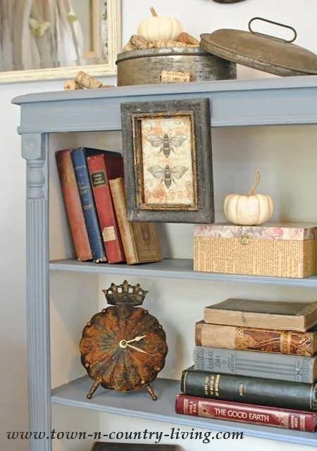 Chalk Paint Bookcase Makeover Jennifer Rizzo