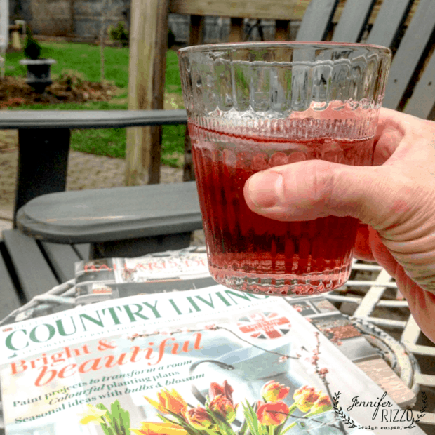 Cheers to gin and raspberry with a birthday weekend recap and an easy drink!