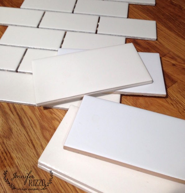 The difference between white subway tiles from tile stores and home improvement stores