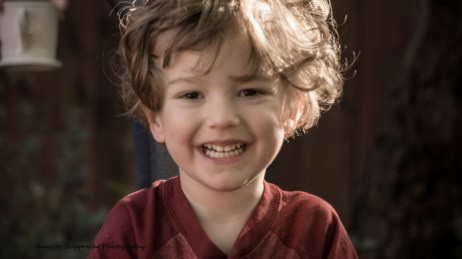 Kian is always full of such wonderful energy, and look at those curls!