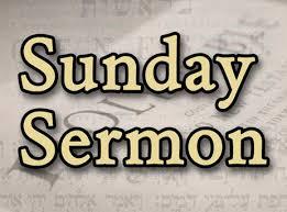Sunday Sermon 1