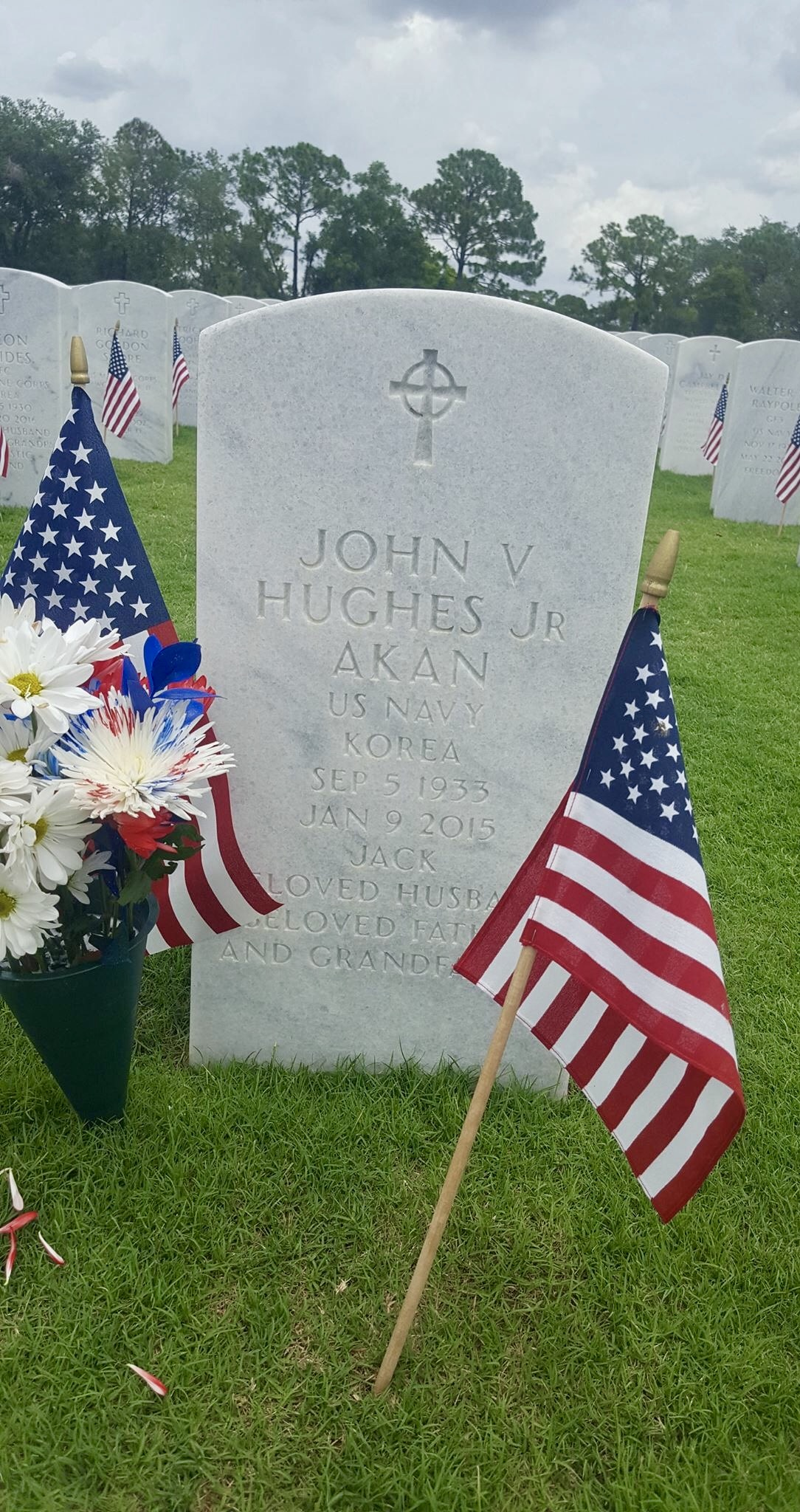 Dad - gravestone