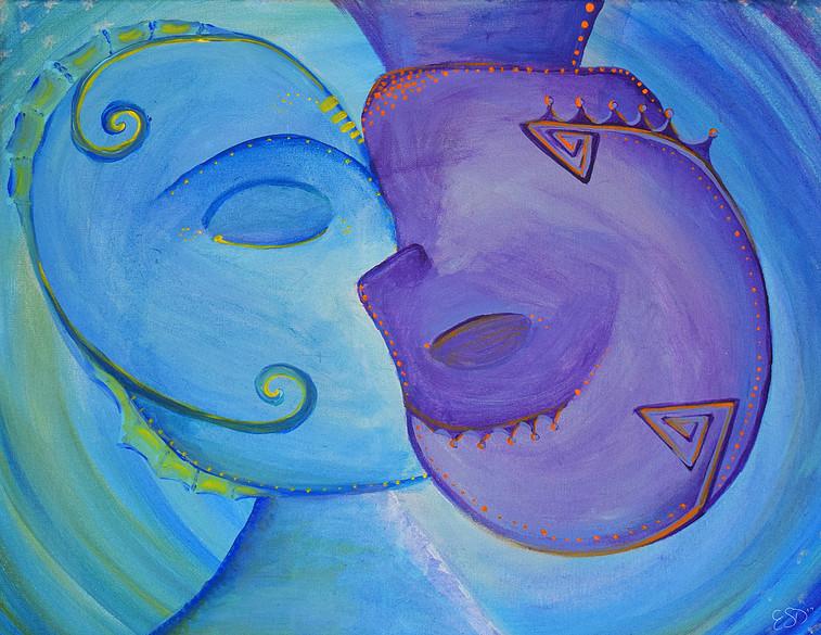 One Love 2016 Acylic on Canvas