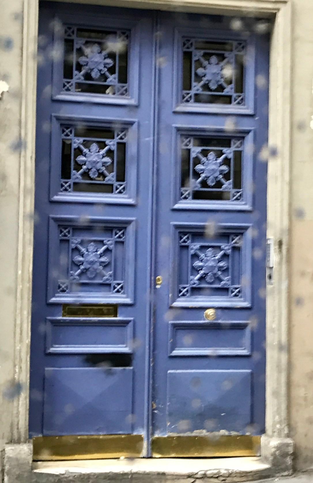 Paris apt door