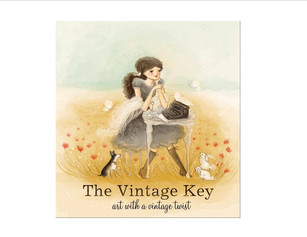 The Vintage Key logo