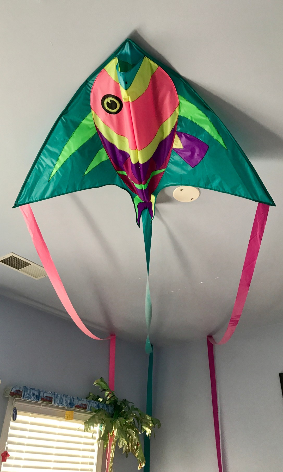flying fish kite