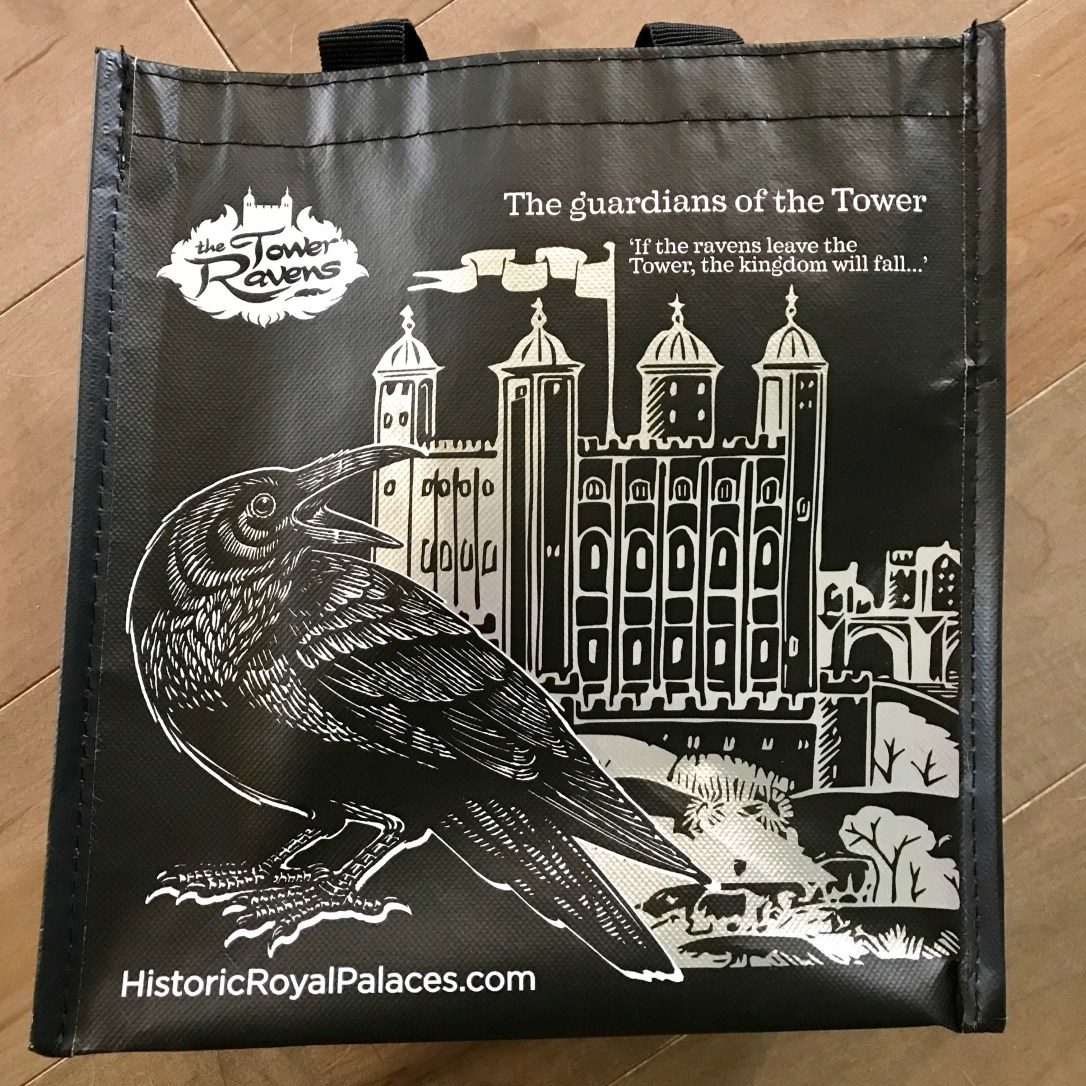 tower of london gift bag
