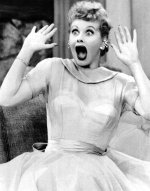 lucy shocked