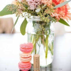 pure love macaron stacked cookies