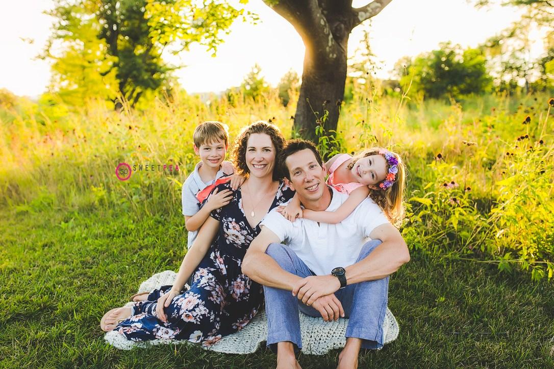 Sweet Pea family pic 2