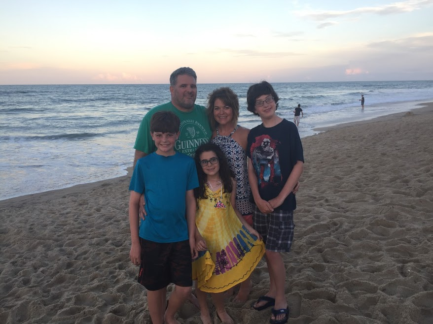 family pic outer banks