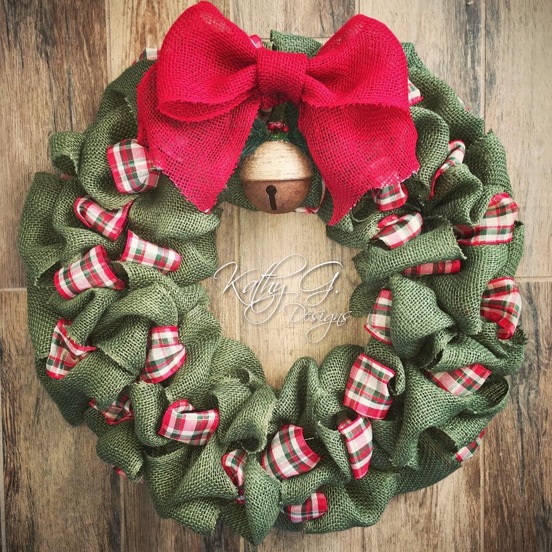 Kathy G xmas wreath