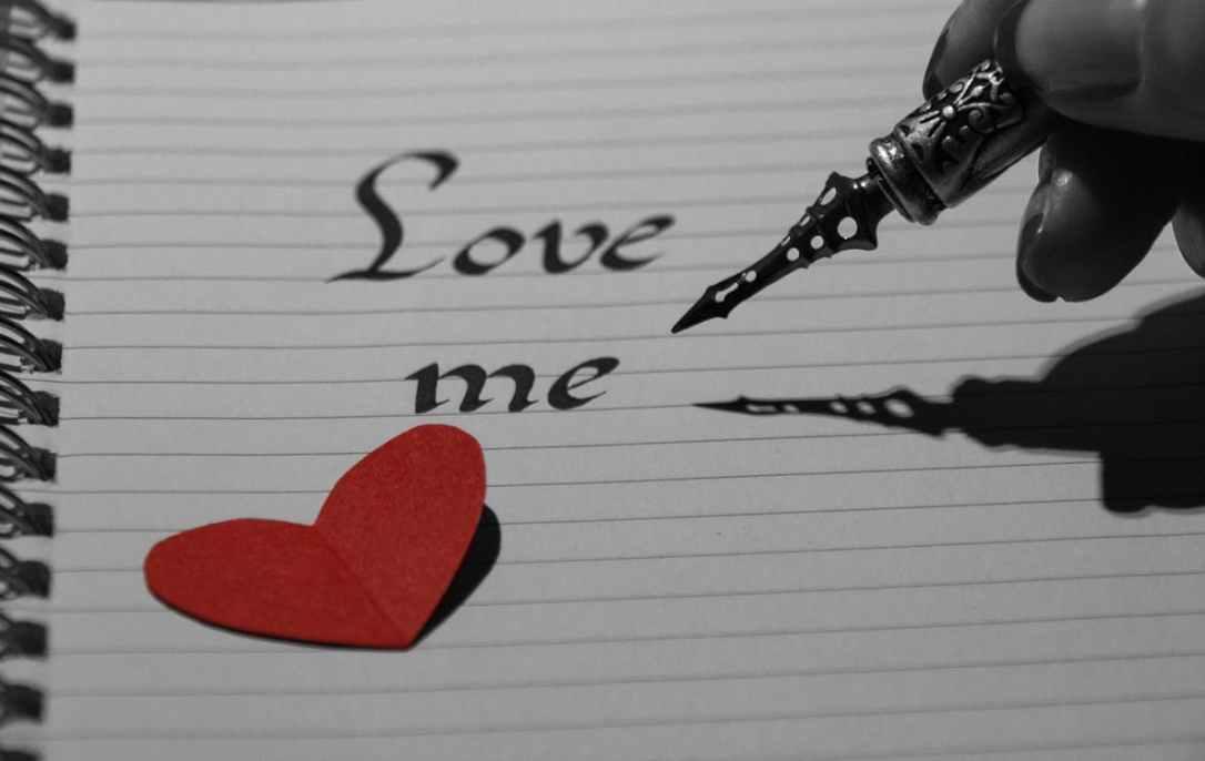 love me notebook