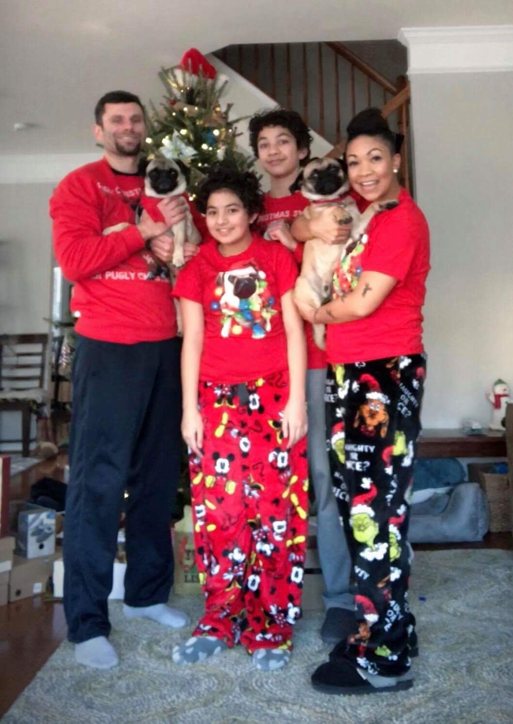 Nikki and family