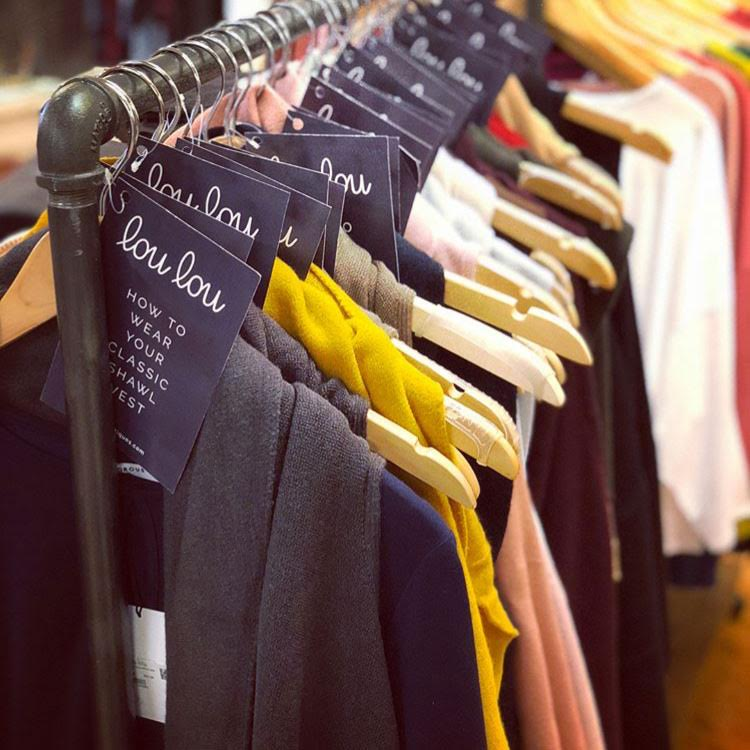 Tara Wegdam - clothing rack