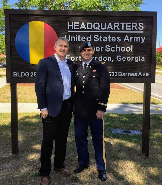 Andy and Andrew Army Headquarters