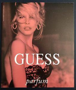 Guess parfum ad