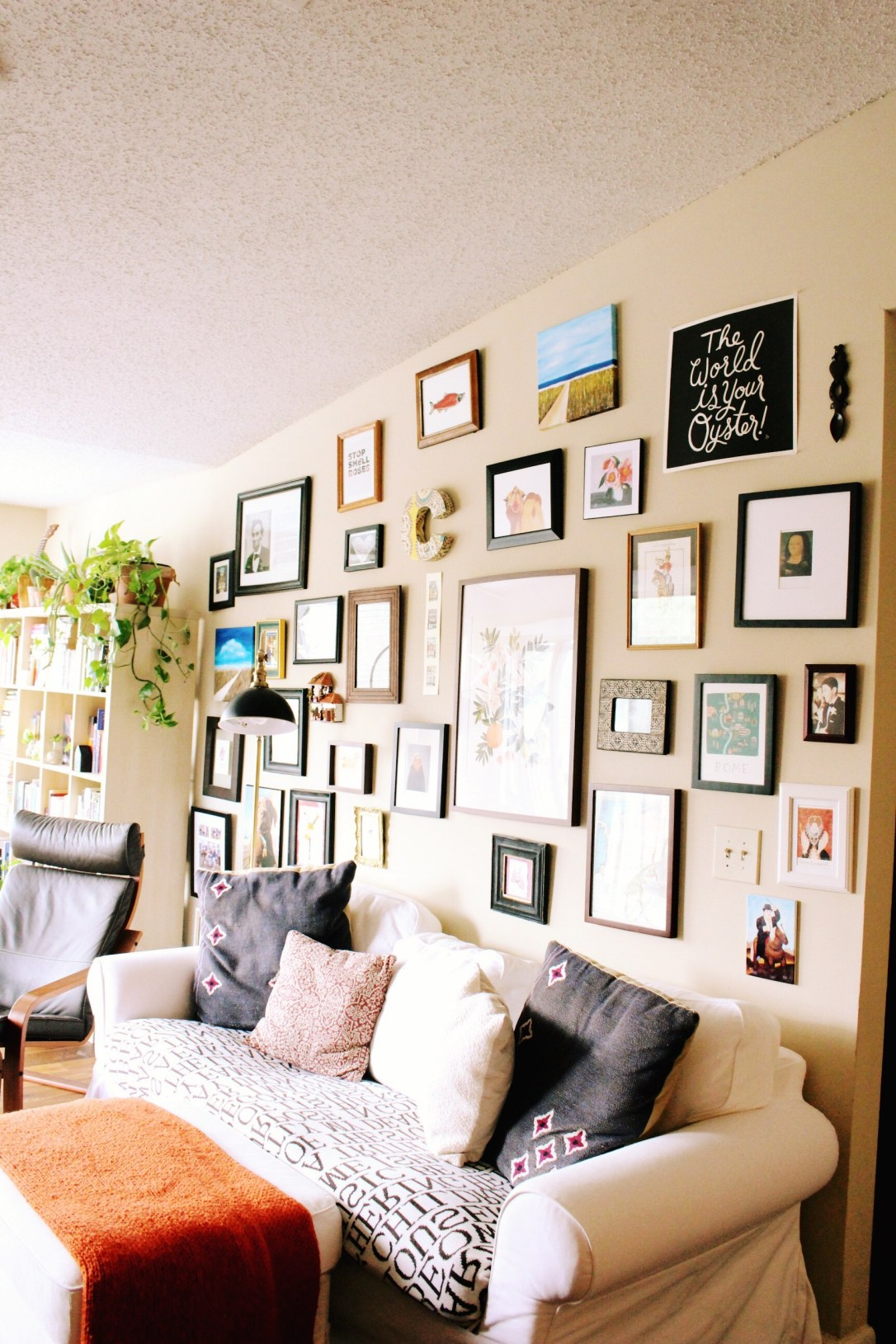 Spatial Dwelling - gallery wall