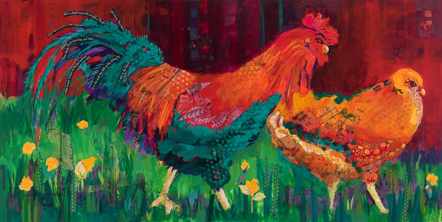 Linda Hendrickson - Roosters - yes dear