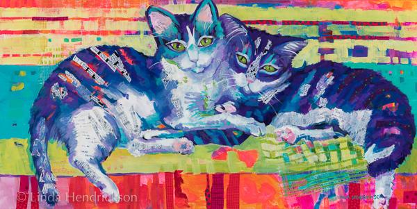 Linda Hendrickson - kitties - beauty queens