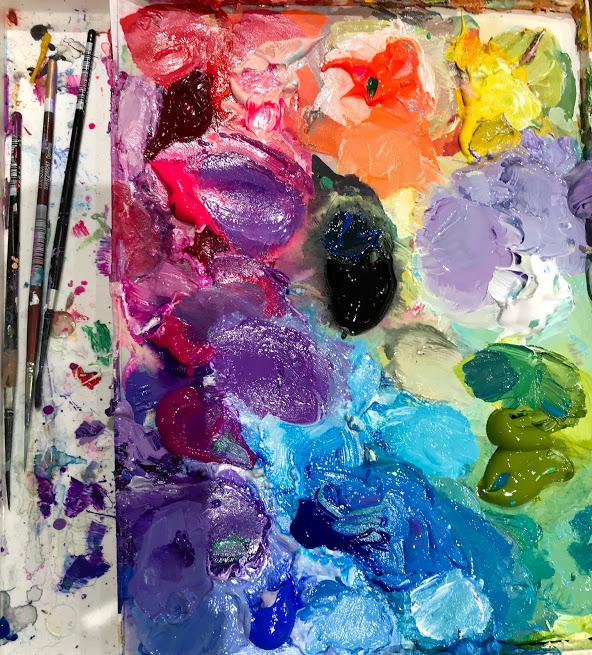 Linda Hendrickson - paint palette